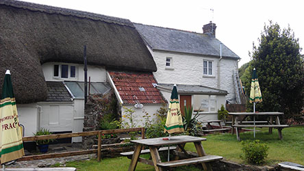 The Thatched Inn-before